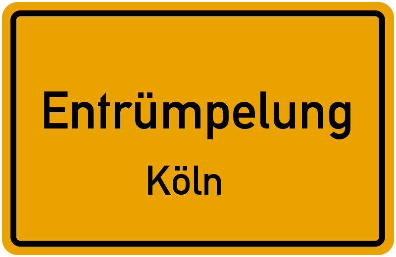 Entrümpelung in Köln