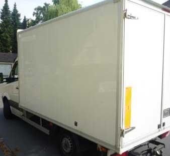 Unser Klein-Lkw für Haus und Wohnungsauflösungen